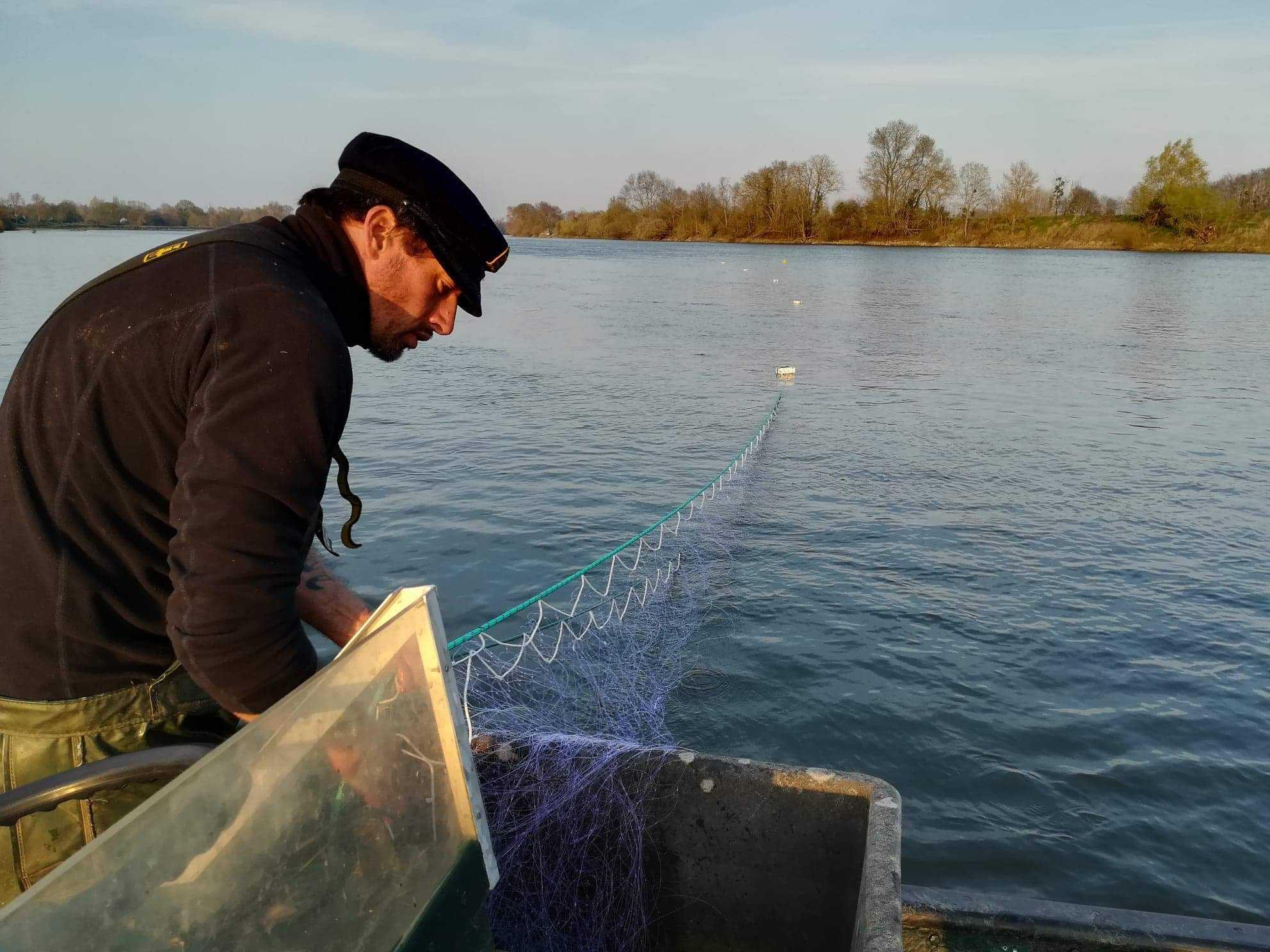 À la rencontre d'un pêcheur en Loire